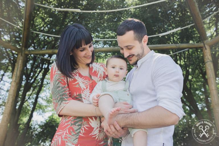 White Frame-fotografie di famiglia