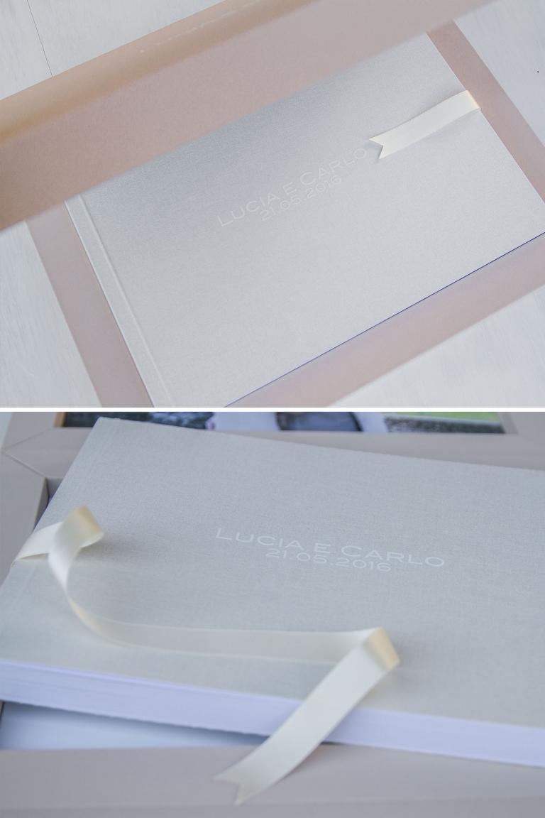 Album di matrimonio, album di nozze, White Frame